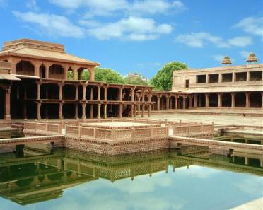 Image result for anup talao fatehpur sikri