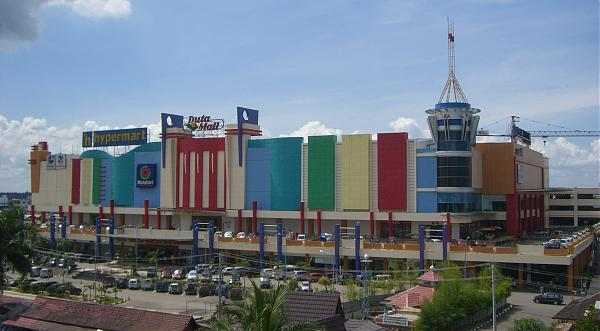 duta mall banjarmasin in city
