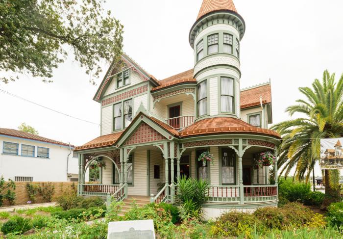 Woelke Stoffel House 1894 Anaheim California
