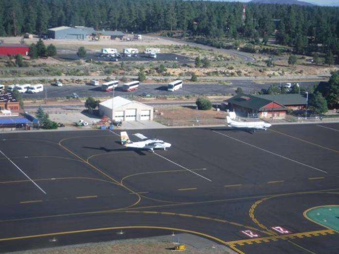 Grand Canyon National Park Airport Apron