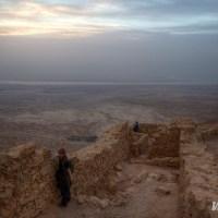 Sunrise Over the Masada Desert Fortress; Nellie Huang; Wild Junket