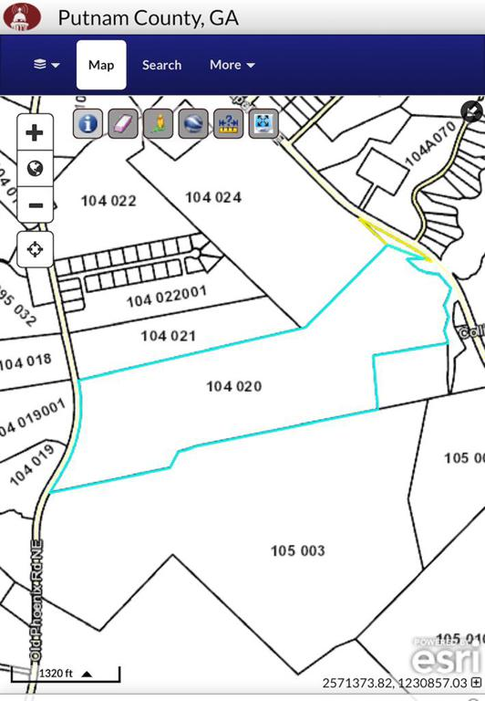 Property for sale at 118 acre Old Phoenix Rd, Eatonton,  Georgia 31024