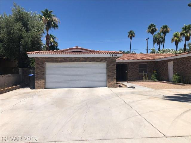Property for sale at 2820 Gilmary Avenue, Las Vegas,  Nevada 89102