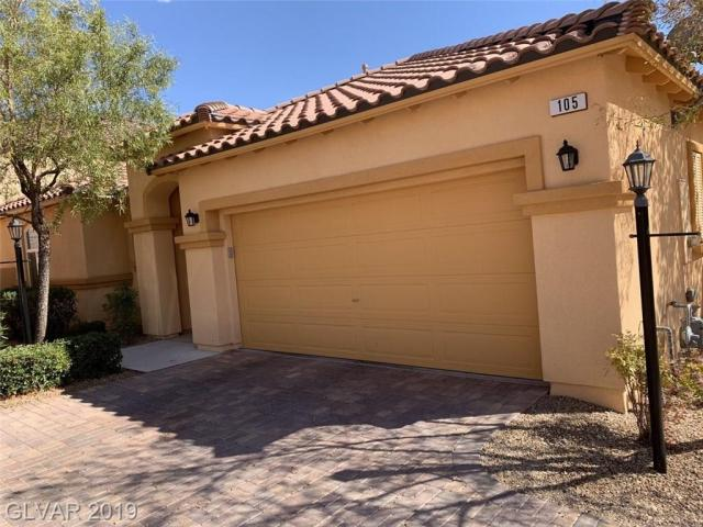 Property for sale at 105 Via Di Mello, Henderson,  Nevada 89011