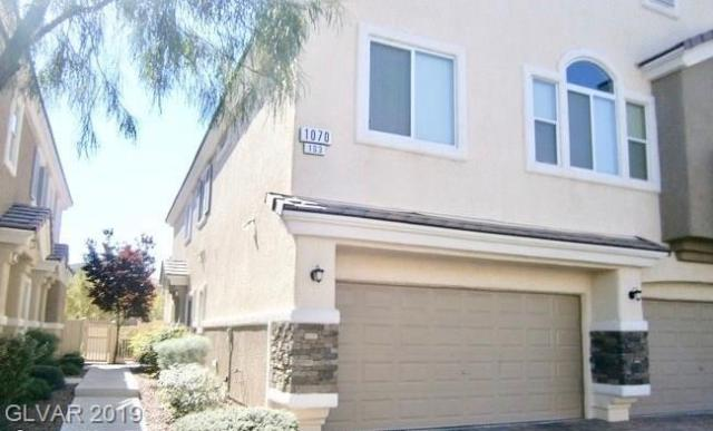Property for sale at 1070 Sheer Paradise Lane Unit: 3, Henderson,  Nevada 89002