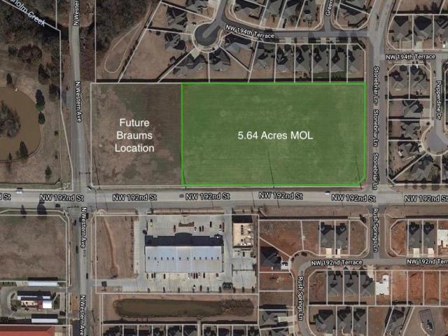 Property for sale at 1005 NE Danforth/Western Road, Edmond,  Oklahoma 73003