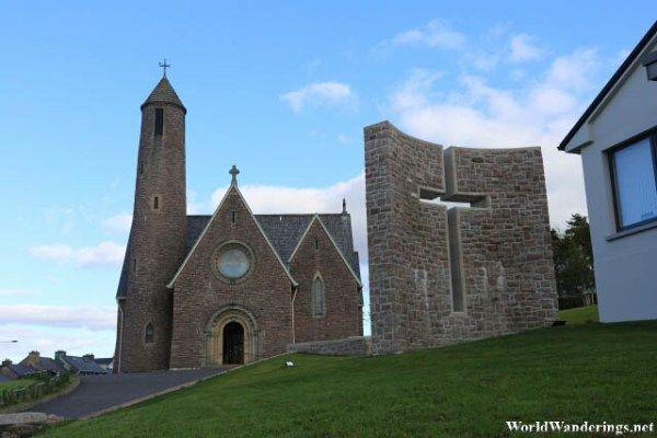 Saint Patrick's Church in Donegal