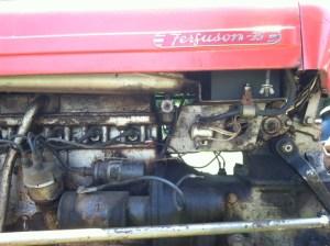 TO35 solenoid grounding  Yesterday's Tractors