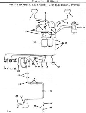 JD 435 wiring diagram  John Deere