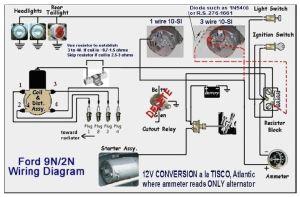 Wiring 9n 12v conv  Ford 9N, 2N, 8N Forum  Yesterday's