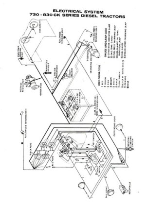 John Deere 1020 Ignition Switch Diagram  Wiring Diagram