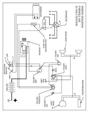 450 wiring diagram  Yesterday's Tractors