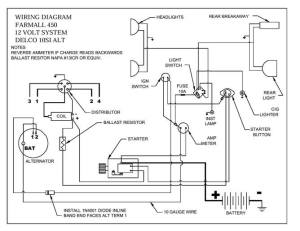 450 wiring diagram  Farmall & International Harvester
