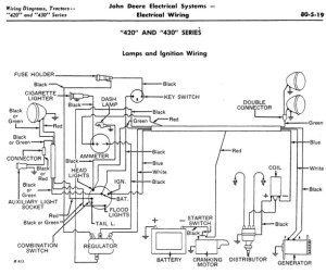 WIRING DIAGRAM JOHN DEERE MODEL D  Auto Electrical Wiring Diagram