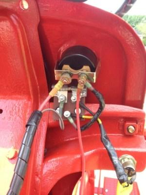 JMOR  ammeter show discharge when  Yesterday's Tractors