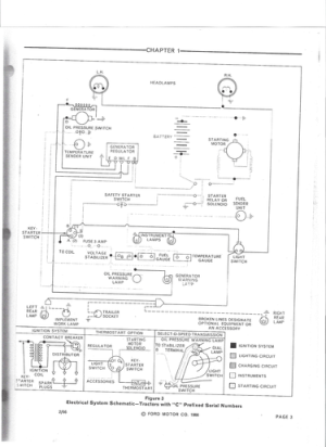 1969 Ford 3400 Wiring Diagram  Ford Forum  Yesterday's
