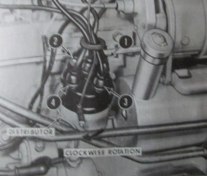 Firing order 1963 CASE 430?  Yesterday's Tractors
