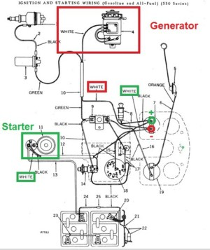 jd 520 wiring diagram  John Deere Forum  Yesterday's