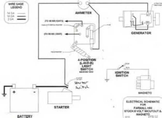 wiring problems on super c  farmall  international