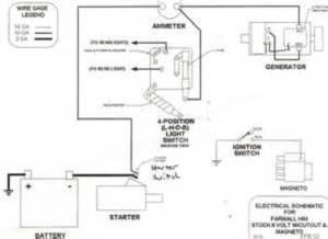 wiring problems on Super C  Farmall & International