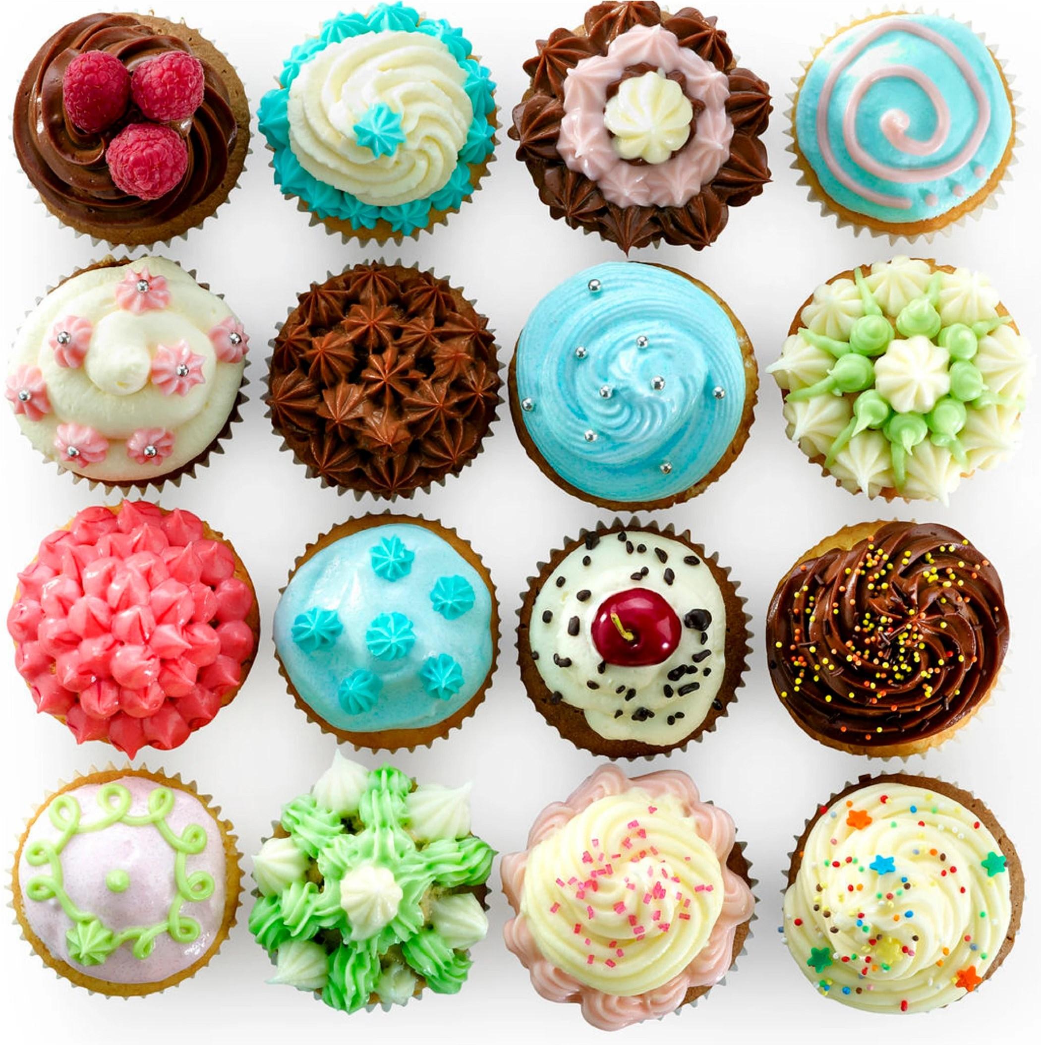 kit pour muffins ou cupcakes caissettes poche a douille livre