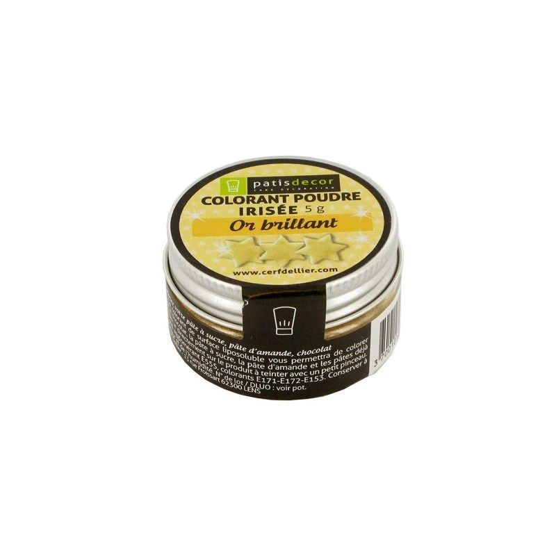 colorant poudre dore 5g