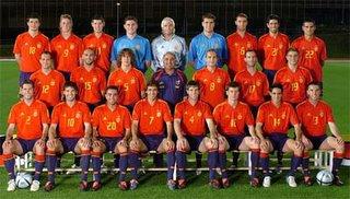 La selección española de fútbol
