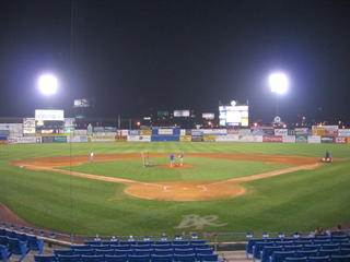 Frawley Stadium in Wilmington, DE