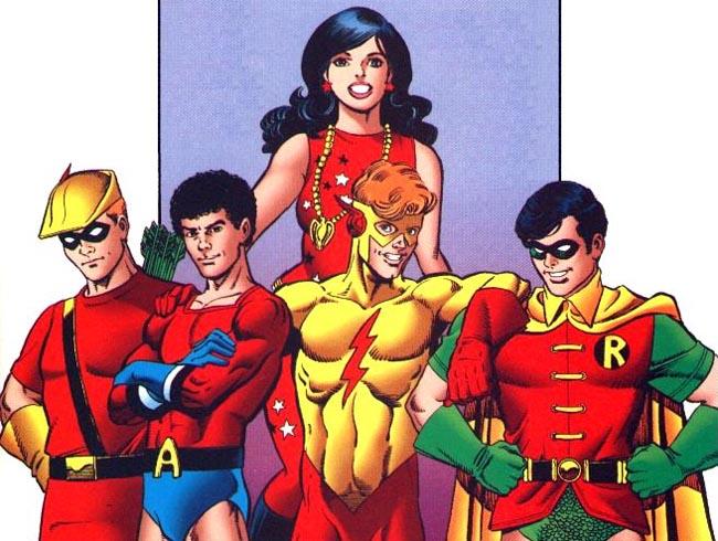 Resultado de imagem para Aqualad, Kid Flash e Ricardito