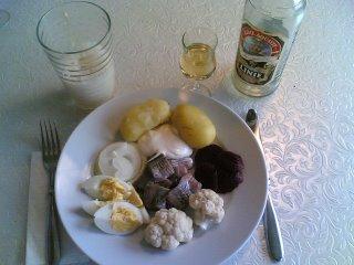 Sild (Herring) dinner