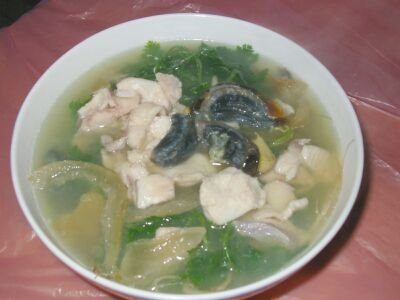 Culinarytonicsoup: 67 芫茜皮蛋魚肉茶瓜湯