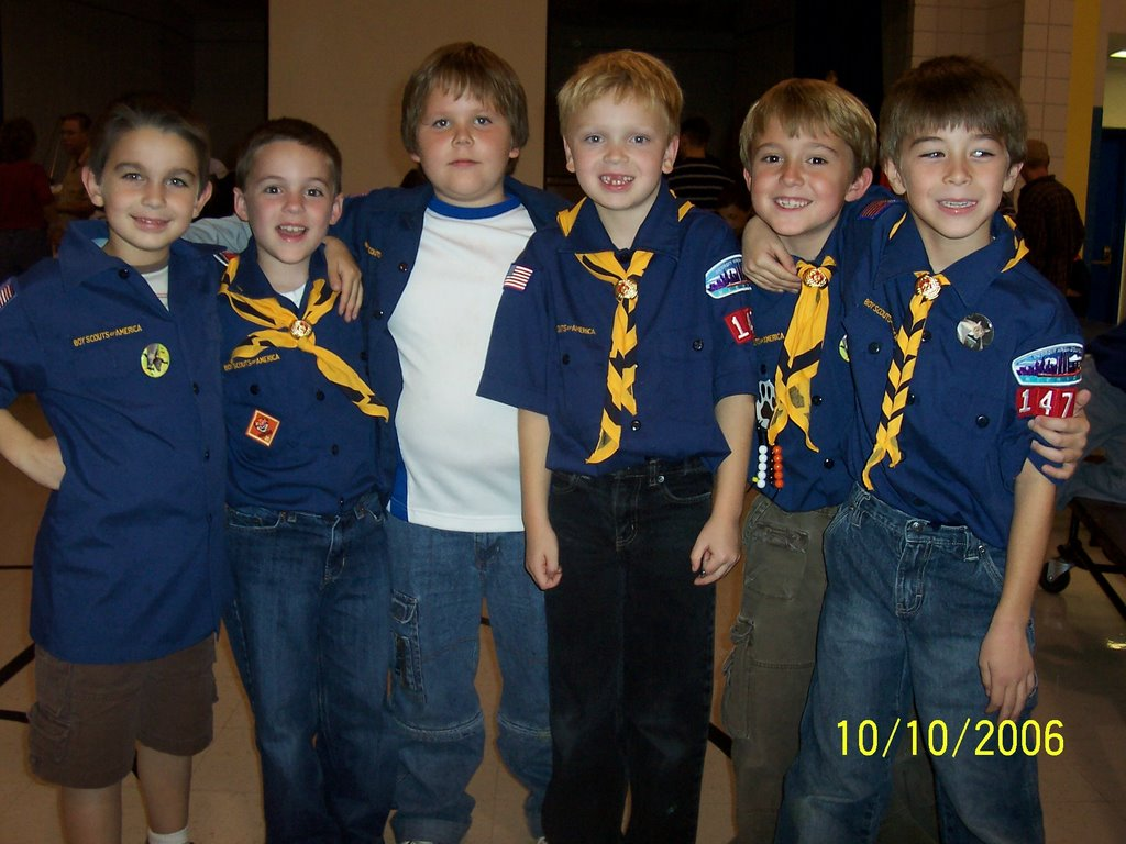 Duncanx2 Boy Scout Pack Meeting
