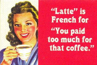 It Costs A Latte!