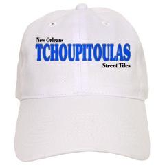 Blue Tile Hat