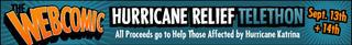 Webcomic Hurricane Relief Telethon