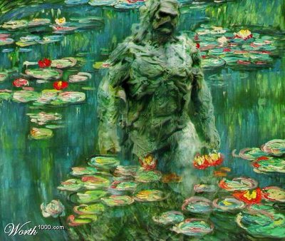 Monet captures Swamp Thing (2005)