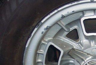 Lamborghini Miura restoration, wheels