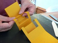 Folding popups