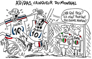 Victoire… d'Adidas