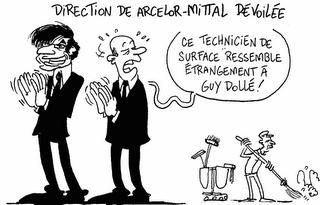 Direction de Arcelor Mittal dévoilée