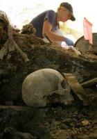 Kamenica: one of Srebrenica massacre mass graves.