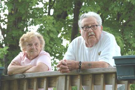 Grandma and Grandpa Mihualik