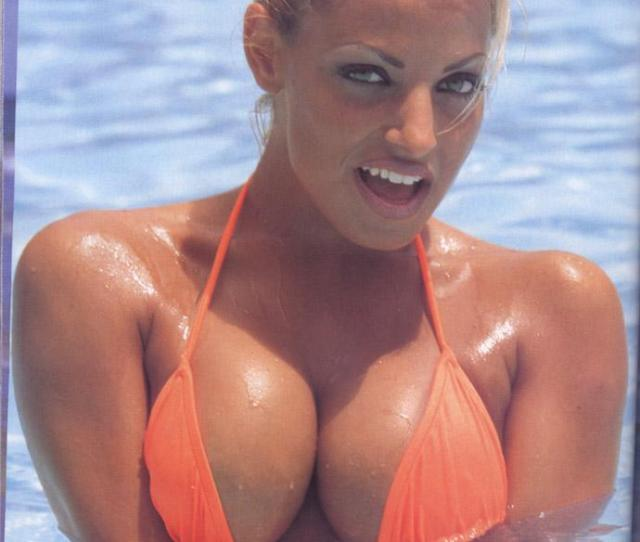 Trish Stratus Challenges Pamela Anderson