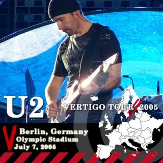 Bootleg U2 Vertigo Tour Berlin, Germany