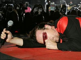 Bono madrid en vertigo tour