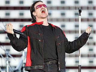 Bono in Valle Hovin Stadion, Oslo