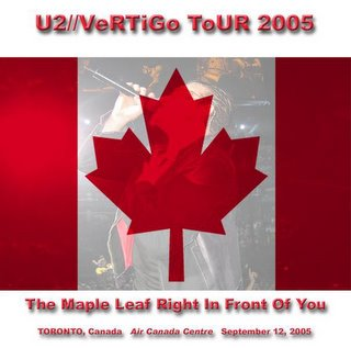 U2 Bootleg Cover Archive, Toronto