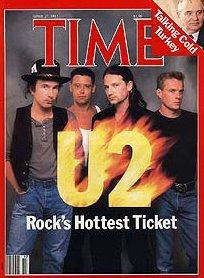 U2 Time Magazine 1987