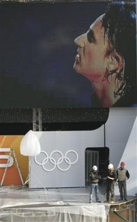 Bono en los juegos olimpicos