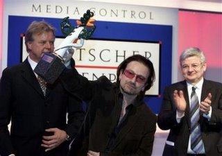 Bono German media award